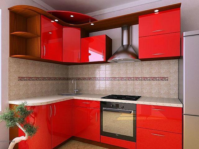 Дизайны угловой кухни